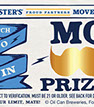 custom scratch off contests drive sales revenues like this one we printed for Fosters beer.