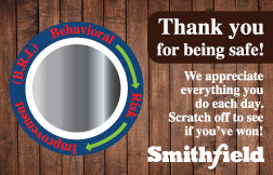 safety scratchers used by Smithfield