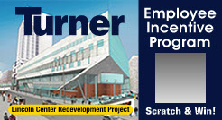 Turner Construction used our employee incentive scratch offs to reduce injuries on the job.